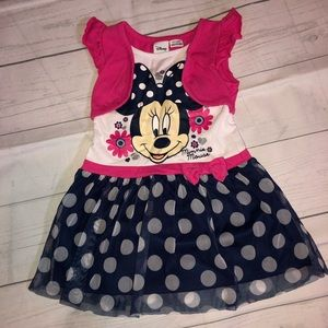 Disney 3T Minnie Mouse Dress